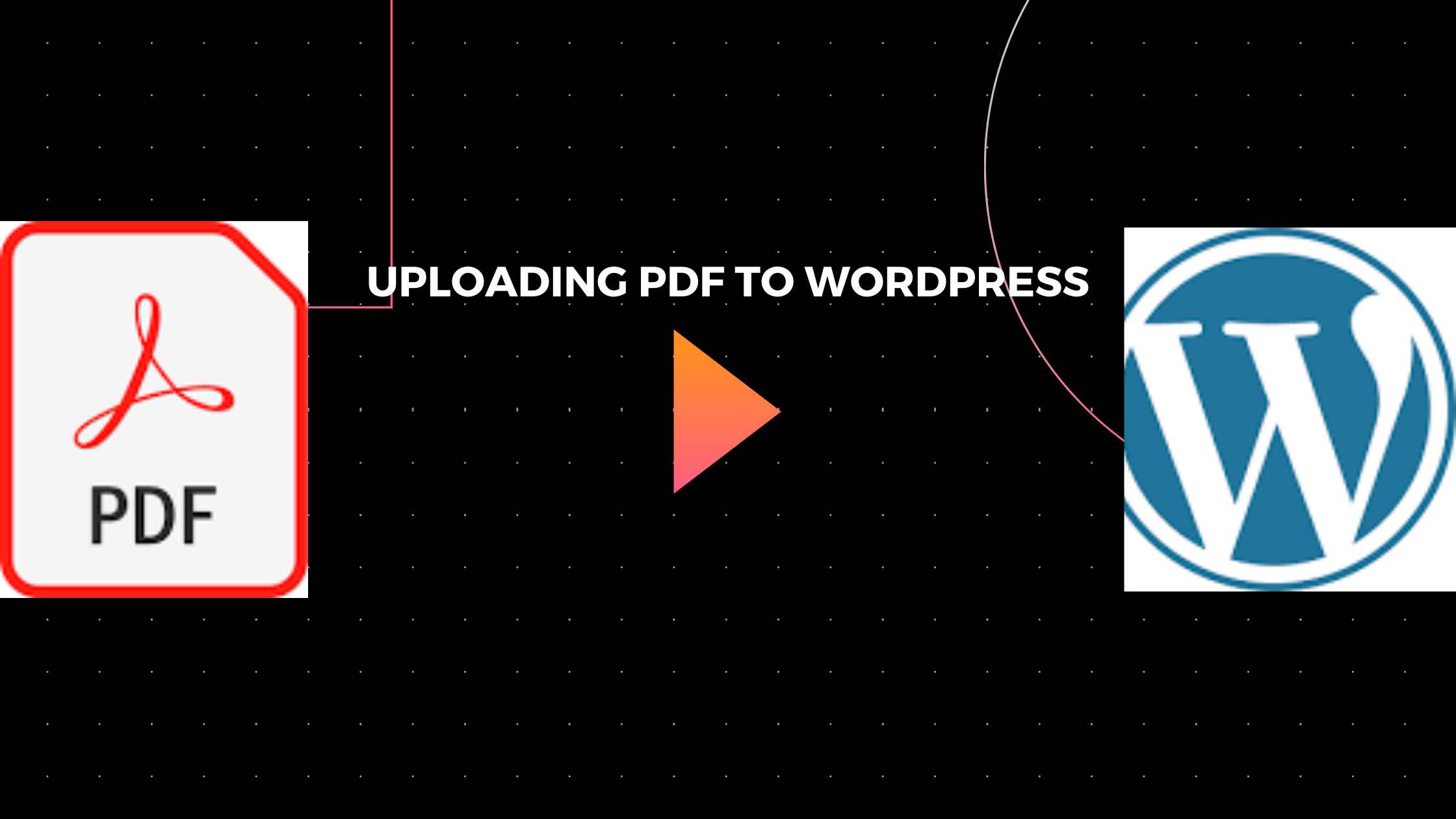 HOW TO UPLOAD OR ADD A PDF FILE TO A WORDPRESS WEBSITE